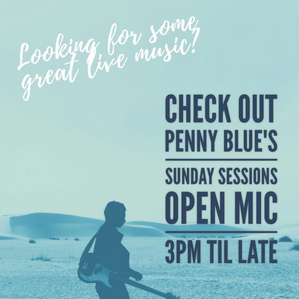 Sunday Sessions @ Penny Blue